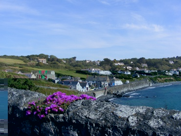 The picturesque fishing village of Coverack