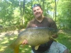 Large fish caught at Lower Dutson