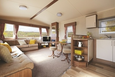 Interior of an elite range holiday home