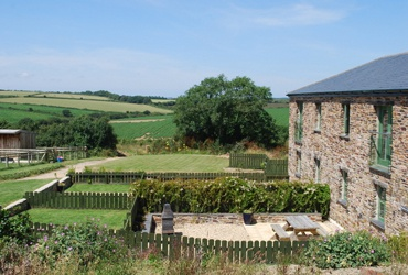 Surrounding countryside and private gardens
