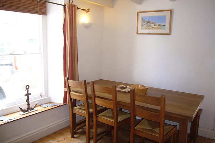 The dining room in Labour in Vain