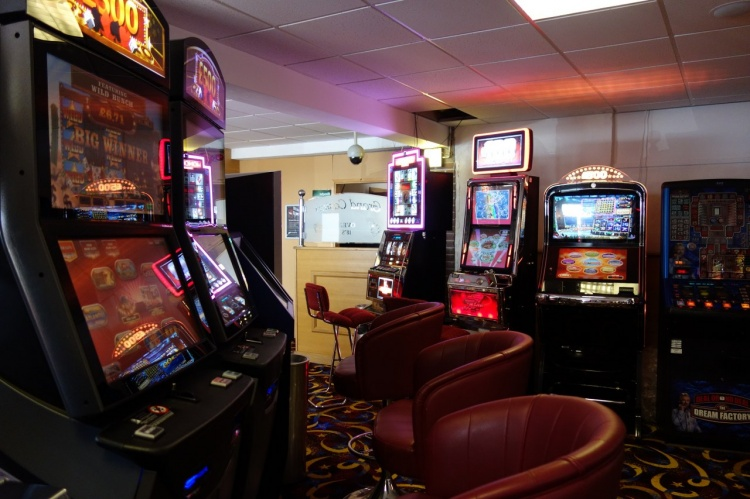 Selection of arcade and fruit machines